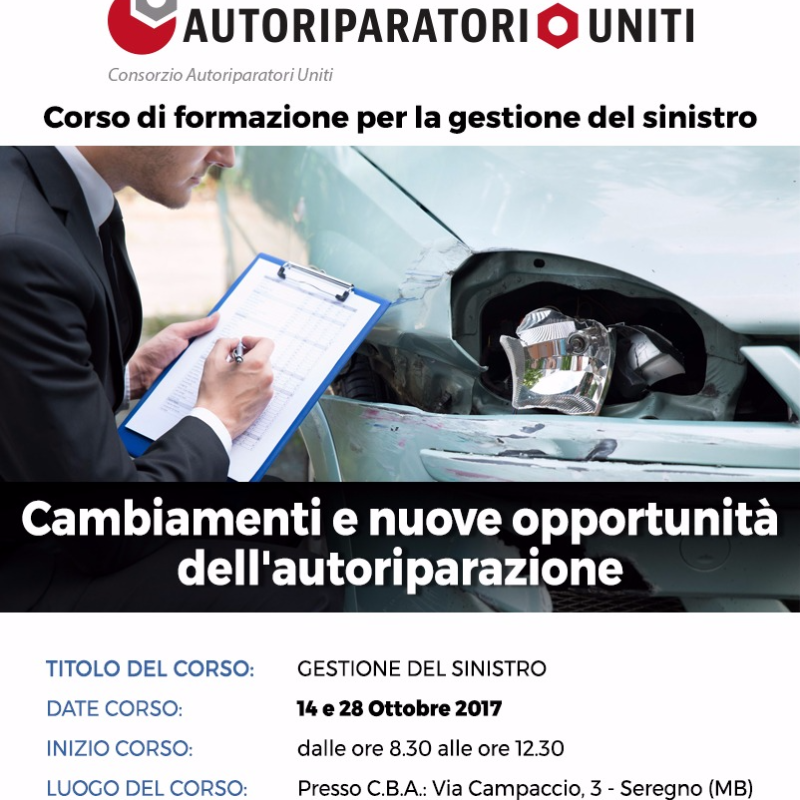 Consorzio autoriparatori uniti milano e monza brianza for Corso carrozziere